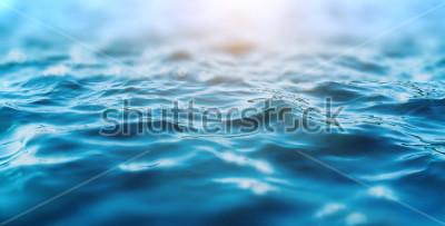 Väggdekor ocean water background