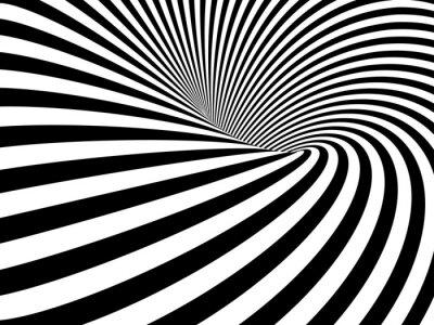 Väggdekor Optisk illusion maskhål