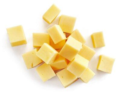 Väggdekor ostbitar