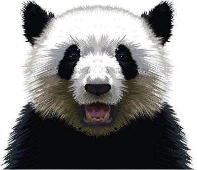 Väggdekor PANDA - Buste