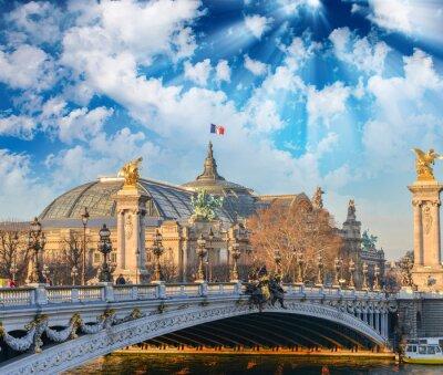 Väggdekor Paris byggnader och landmärken