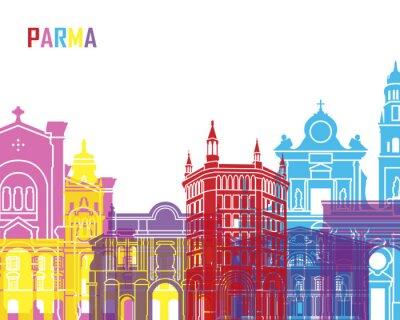 Väggdekor Parma horisont pop