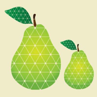 Väggdekor päron