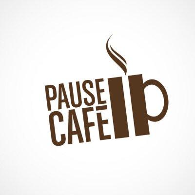 Väggdekor pause café