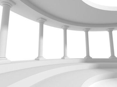 Väggdekor pelare kolonner konstruktion arkitektur bakgrund