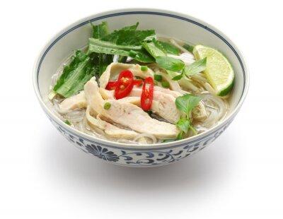 Väggdekor pho ga, vietnames kyckling ris nudelsoppa