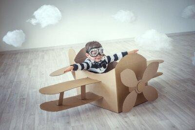 Väggdekor pilot