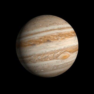 Väggdekor planet Jupiter