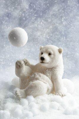 Väggdekor Polar Bear Dekoration