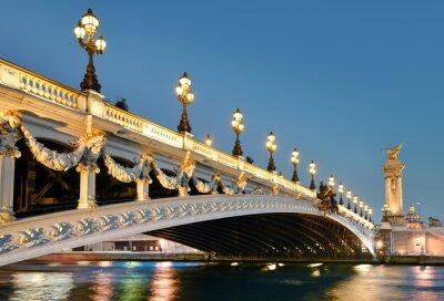 Väggdekor Pont Alexandre, Paris