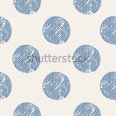 Väggdekor prickar / handritad vektor sömlöst mönster / mode / fåglar / kan användas för barns eller babys tröja design / modetryck design / modediagram / t-shirt / barnkläder / tee