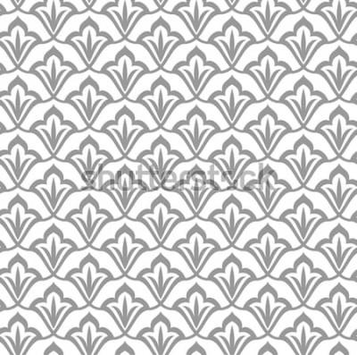 Väggdekor Prydnadsmönster. Arabiska sömlösa mönster. Marockansk bakgrund.
