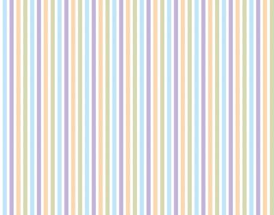 Väggdekor Rand mönster bakgrund pastell