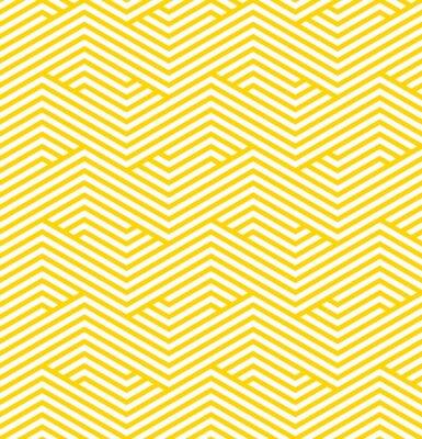 Väggdekor randigt geometriskt mönster