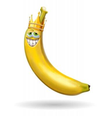 Väggdekor re banan