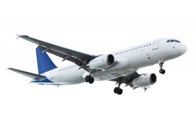 Väggdekor Real jetflygplan
