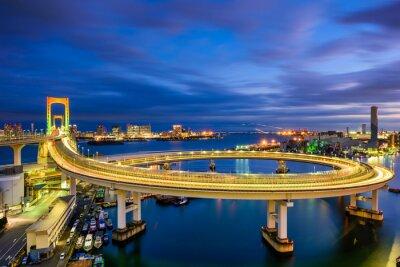 Väggdekor Regnbågsbron Tokyo