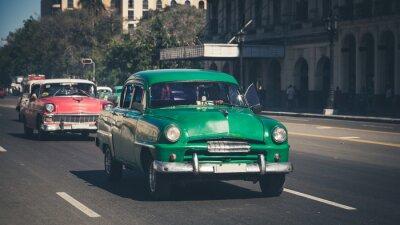 Väggdekor Retro: Oldtimer Havana | Kuba