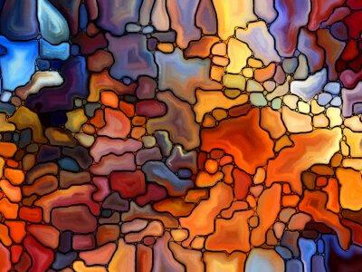 Väggdekor Return of Stained Glass