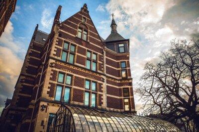 Väggdekor Rijksmuseum är en nederländsk medborgare museum tillägnat konst och historia i Amsterdam. Museet ligger vid Museumplein i staden Amsterdam South, nära Van Gogh-museet.
