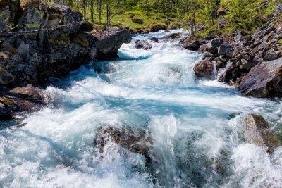Väggdekor River i Norge