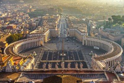 Väggdekor Rom, Italien.