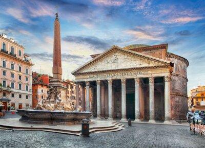 Väggdekor Rom - Pantheon, ingen