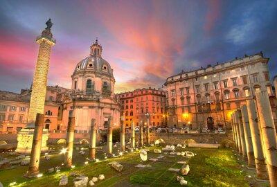 Väggdekor rome Sunset