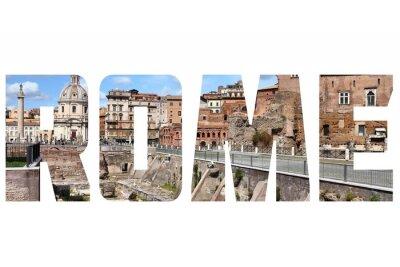Väggdekor rome tecken
