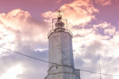 Väggdekor Rött filter Light House