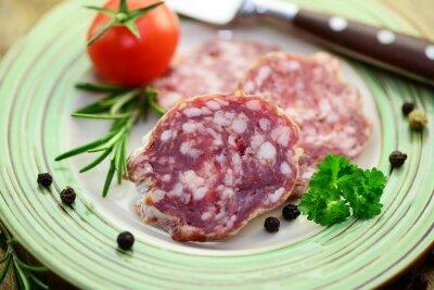 Väggdekor salami