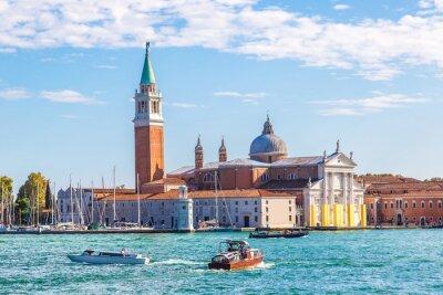 Väggdekor San Giorgio ön i Venedig, Italien