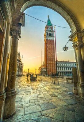 Väggdekor San Marco, Venedig, Italien