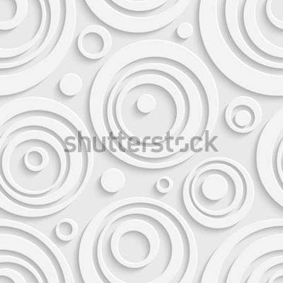Väggdekor Seamless cirklar mönster