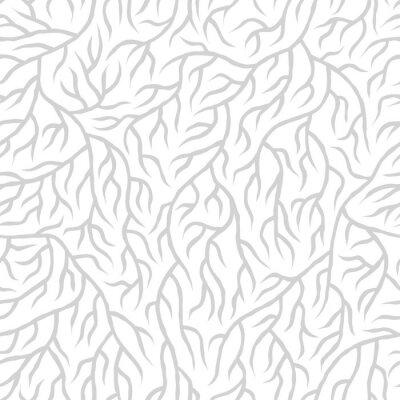Väggdekor Seamless nature pattern