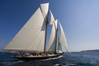 Väggdekor Segelbåt