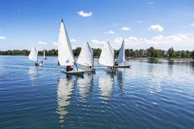 Väggdekor Segling på sjön