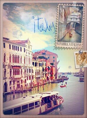 Väggdekor Semester i Italien och Venedig-serien