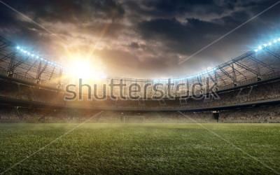 Väggdekor soccer field