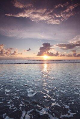 Väggdekor Solnedgång på Bali
