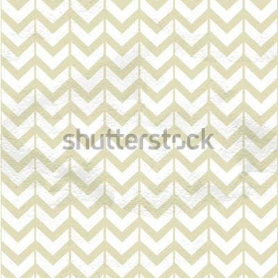 Väggdekor Sömlös fina textur för beige chevron på grange papper