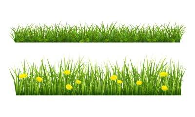 Väggdekor sommar gräs