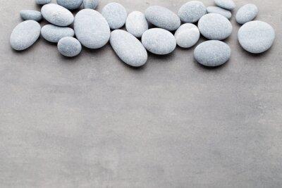 Väggdekor Spa stenar behandling scen, zen som begrepp.