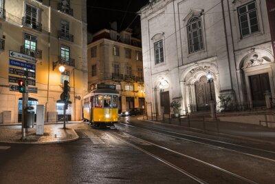 Väggdekor Spårväg Lisbonne Portugal