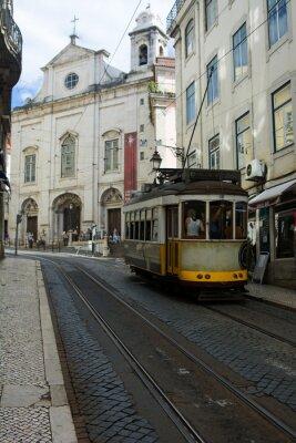 Väggdekor Spårvagn - Lisbona