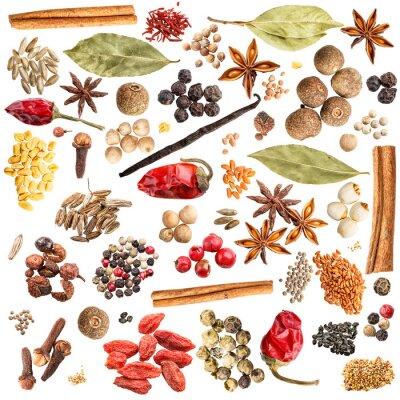 Väggdekor spice samling