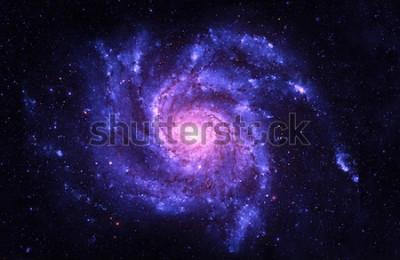 Väggdekor Spiral Galaxy - Beståndsdelar av denna bild möblerad av NASA