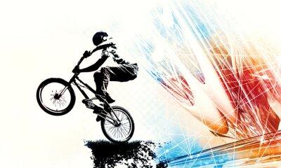 Väggdekor Sport illustration of bmx rider