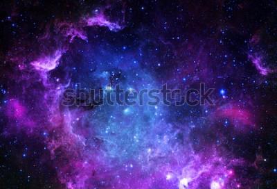 Väggdekor Starfield - Beståndsdelar av denna bild möblerad av NASA