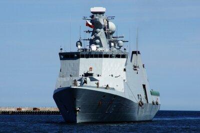Väggdekor Statek w Gdyni